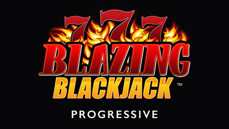 Blazing Sevens Blackjack Progressive logo