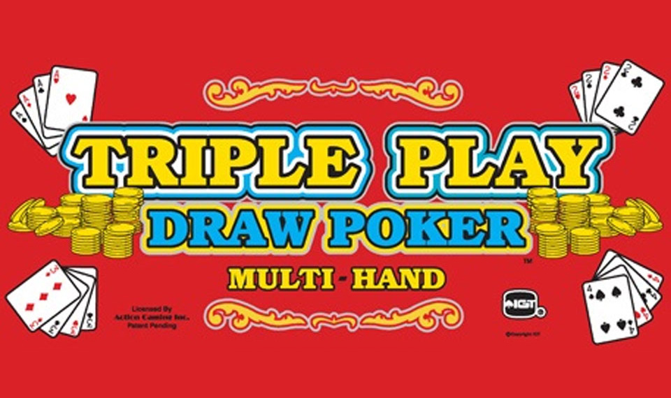 Triple Play Draw Poker Multi Hand logo