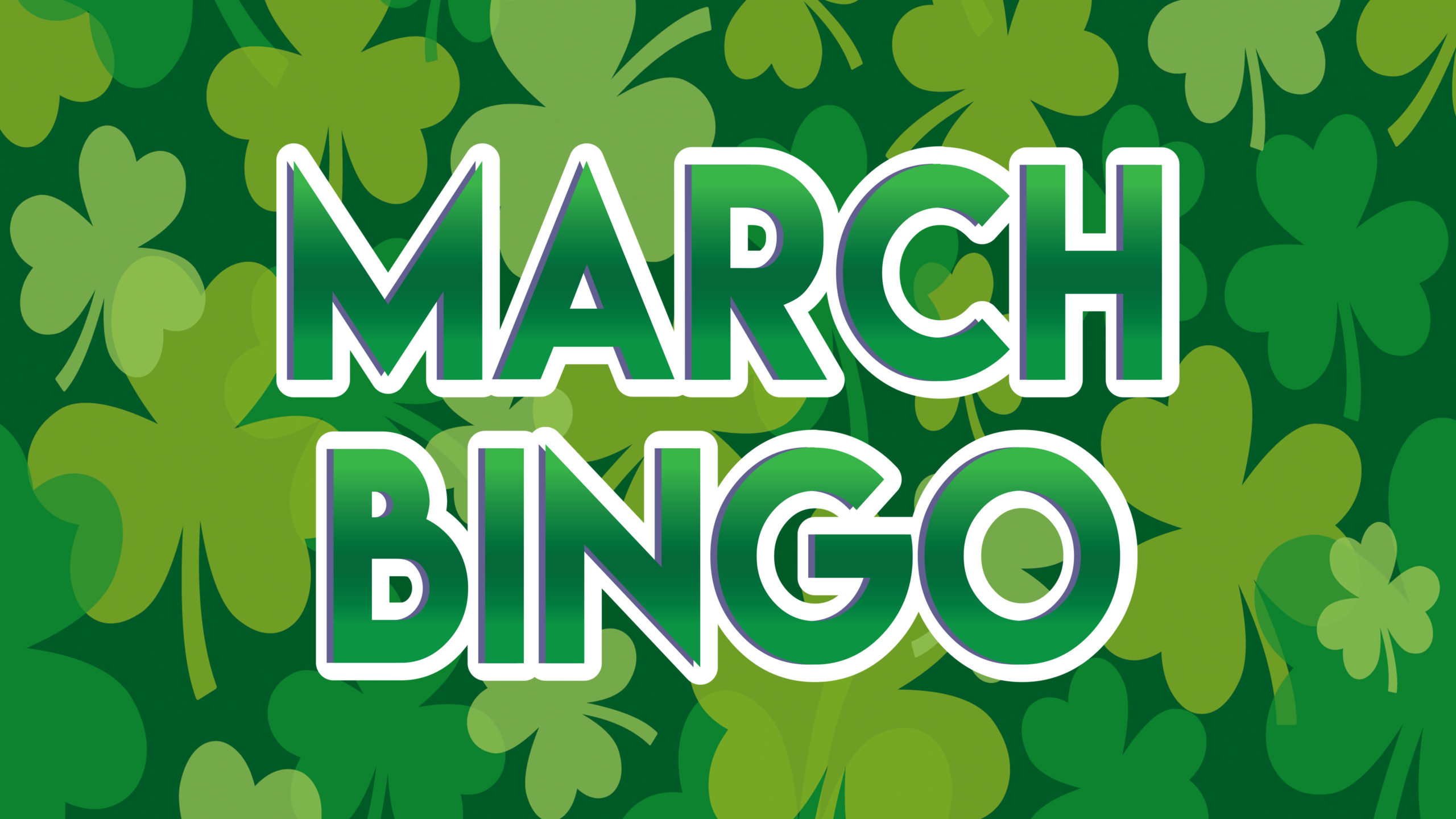 March Bingo logo