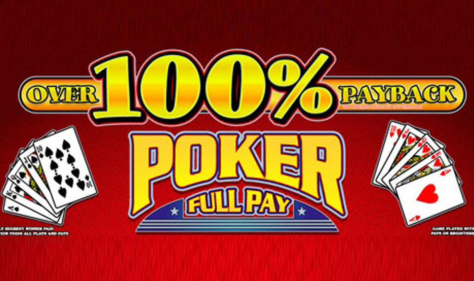 Over 100% Payback Poker Full Pay logo