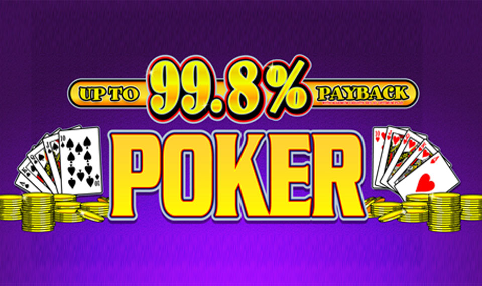 Up To 99.8% Payback Poker logo
